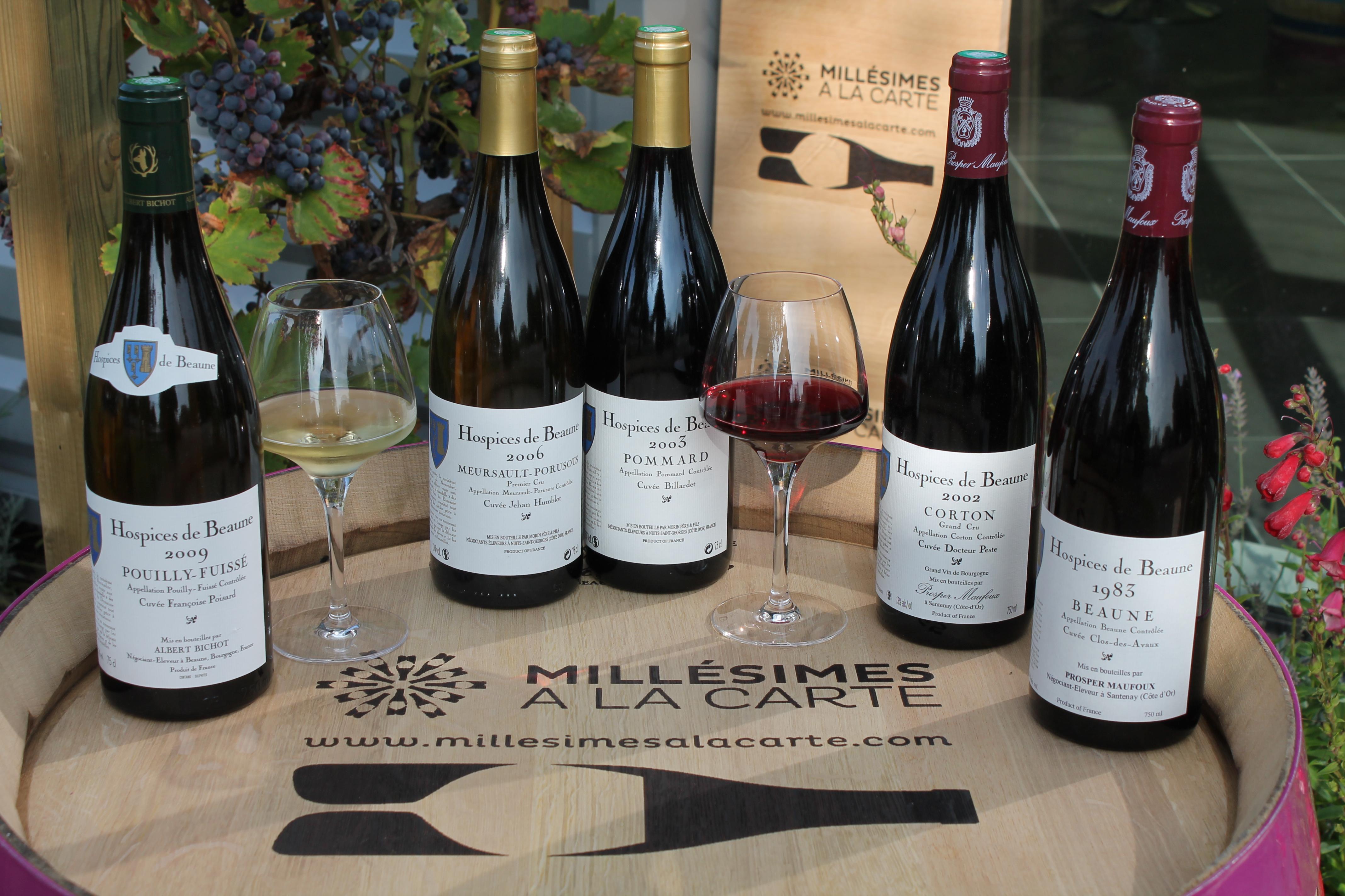 gamme vins des hospices