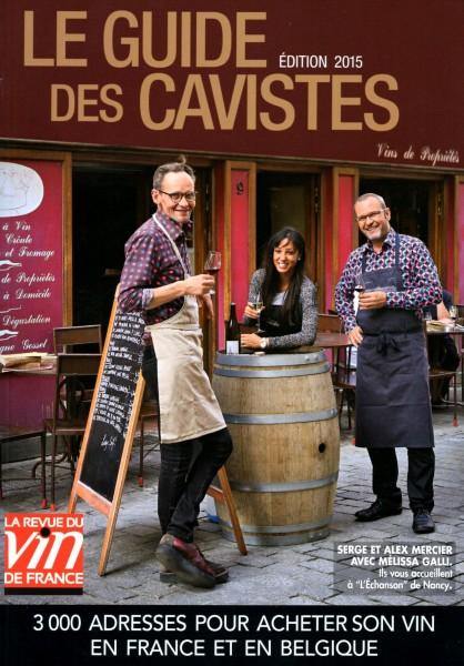 Le guide des cavistes 2015 de la RVF